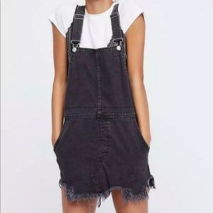 Free People Overalls Denim distressed